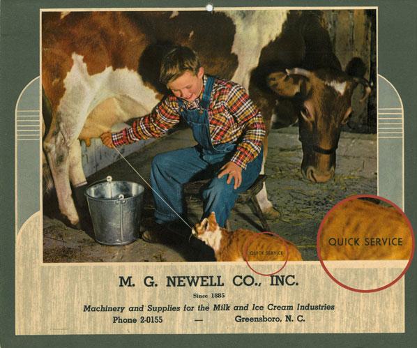 Our famous calendar circa 1953
