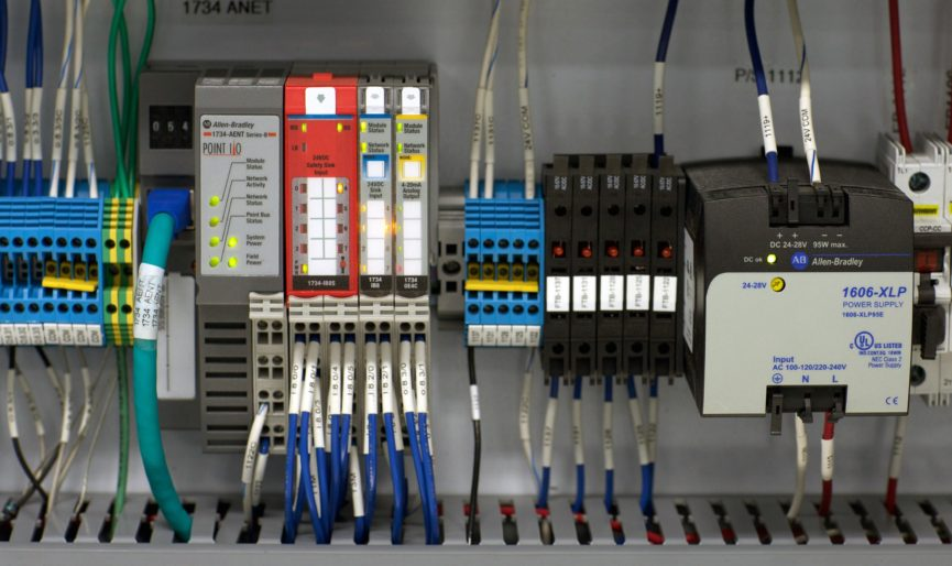 panel components and wiring